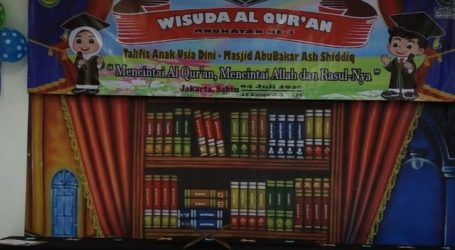 TAUD MABAS Gelar Wisuda Al-Quran Perdana 21 Siswa