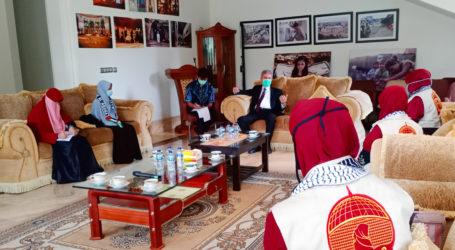 Mae_C Pererat Kerja Sama dengan Kedubes Palestina