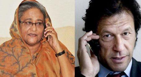 Khan Angkat Isu Kashmir dengan Hasina