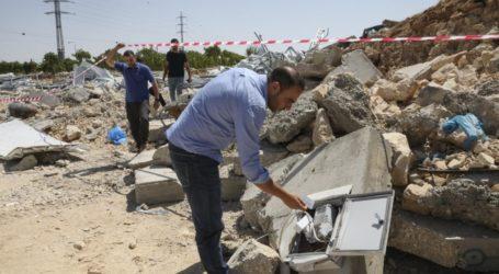 Israel Hancurkan Pusat Pengujian Covid-19 Palestina di Hebron