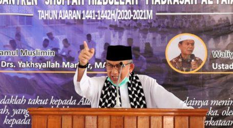 Imaam Yakhsyallah: Pesantren Tidak Mengajarkan Terorisme