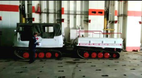 Bantu Penanganan Bencana, PMI Kirim Mobil Hagglund ke Luwu Utara