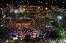 80 Ribu Warga Israel Protes Kegagalan Ekonomi Pemerintah
