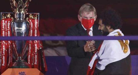 M Salah Kenakan Bendera Negaranya Saat Juara Liga Premier