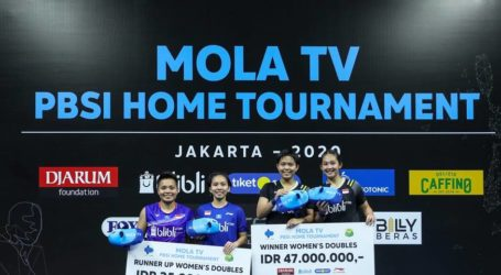 PBSI Home Tournament: Siti-Ribka Juara Ganda Putri