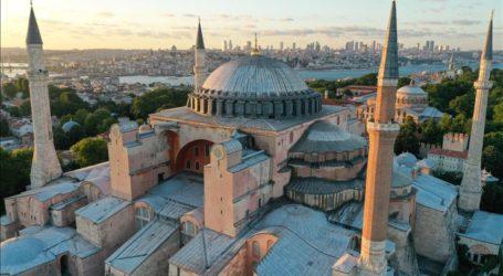 Kemenlu Turki: Hagia Sophia Terbuka Bagi Pengunjung Semua Agama