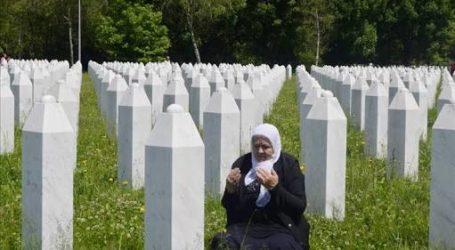 Muslim Bosnia Peringati 25 Tahun Setelah Pembantaian Sebrenica