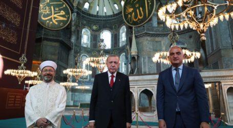 Turki Tunjuk Tiga Imam dan Lima Muazin Masjid Hagia Sophia