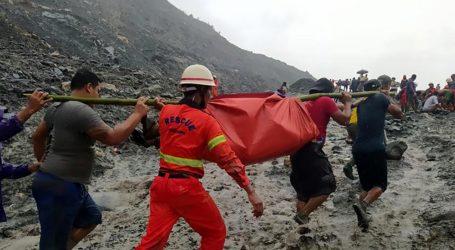 Longsor Tambang Giok Myanmar, 166 Mayat Ditemukan