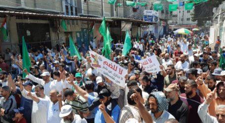 Pawai di Gaza Serukan Persatuan Untuk Hadapi Israel