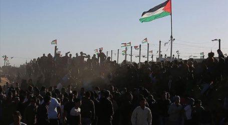 Ribuan Warga Gaza Demo Tolak Aneksasi