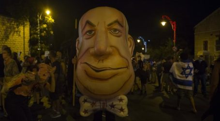 Ribuan Warga Israel Kembali Demo Tuntut Netanyahu Mundur