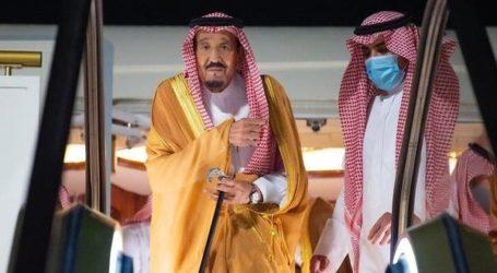 Raja Salman Istirahat di Kota Masa Depan NEOM