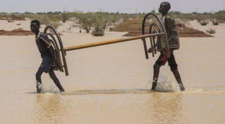 Khartoum: Banjir Tertinggi, Puluhan OrangTewas