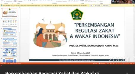 Kemenag Minta Penyuluh Tingkatkan Literasi Zakat dan Wakaf Umat