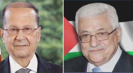 Delegasi Palestina Bertemu Presiden Lebanon di Beirut