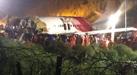 Kecelakaan Air India, Badan Pesawat Terbelah Dua