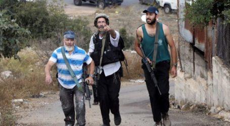 Pemukim Ilegal Bersenjata Serang Keluarga Palestina di Ramallah
