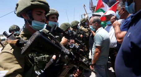 Aksi Protes Menentang Permukiman di Tepi Barat Terus Berlanjut