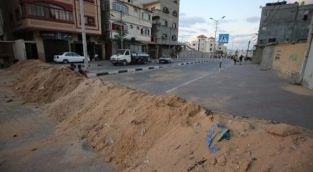 Perketat Lockdown, Gaza Tutup Jalan Protokol