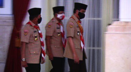 Upacara Peringatan Hari Pramuka Ke-59, Jokowi Ajak Disiplin dan Peduli