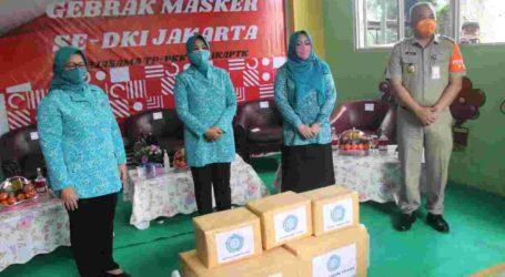 Libatkan Kader PKK, Pemprov DKI Jakarta Dukung Gerakan Bersama Pakai Masker