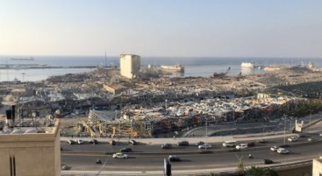 Pelabuhan Beirut Kembali Beroperasi Penuh