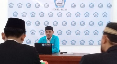 Sebanyak 12 Mahasiswa STAI Al-Fatah Ikuti Sidang Skripsi