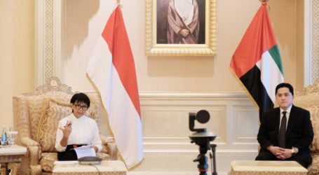 Menlu RI: Indonesia-UEA Kembangkan Teknogi Test Covid-19 dengan Kecerdasan Buatan
