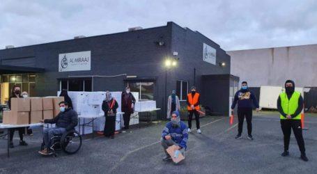 Masjid di Melbourne Bagikan Bingkisan Lebaran Lewat 'Drive Thru'
