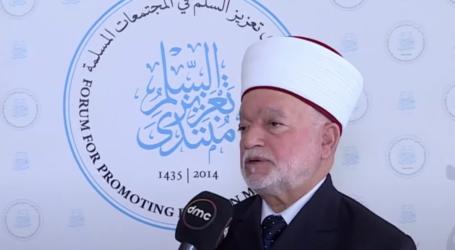 Mufti Agung Yerusalem Mundur Dari Forum Perdamaian UEA