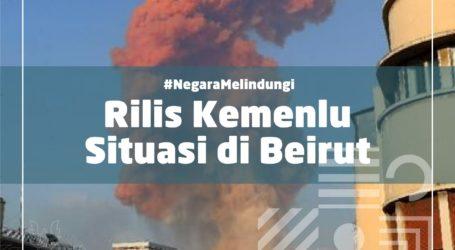 Pemerintah Indonesia Sampaikan Duka Cita atas Ledakan di Beirut