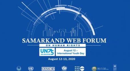 Samarkand Jadi Tuan Rumah Forum Virtual tentang Hak Asasi Manusia