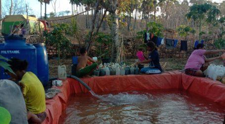 AWG NTT Laksanakan Program Sedekah Air Bersih di Desa Reknamo