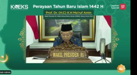 Wapres: Tingkat Literasi Keuangan Syariah Indonesia Masih Rendah