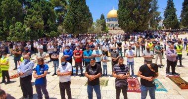 10.000 Jamaah Shalat Jumat di Al-Aqsa