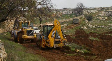 Pasukan Israel Rampas Buldoser Warga di Lembah Yordan Utara