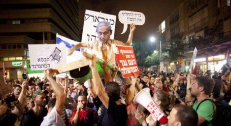 Ribuan Warga Israel Kembali Turun ke Jalan Tuntut Netanyahu Mundur