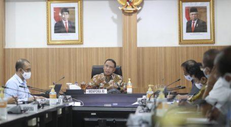 Menpora Pimpin Rapat Jelang Haornas 2020