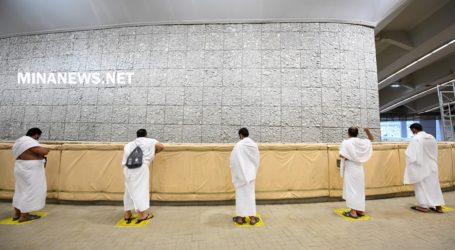 Jamaah Haji Lakukan Lempar Tiga Jumrah Sebagai Fase Akhir