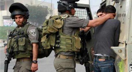 Israel Tangkap 11 Warga Palestina di Beberapa Wilayah Tepi Barat