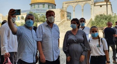 Puluhan Pemukim Yahudi Serbu Al-Aqsa, Warga Palestina Diusir Keluar