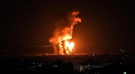 Tengah Malam Israel Kembali Bombardir Gaza