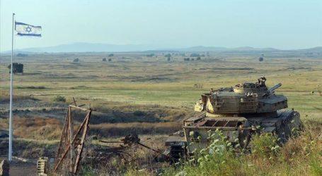 Tank Militer Israel Terobos Perbatasan Lebanon