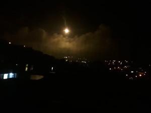Militer Israel Tembakkan Api Suar Besar-besaran di Perbatasan Lebanon