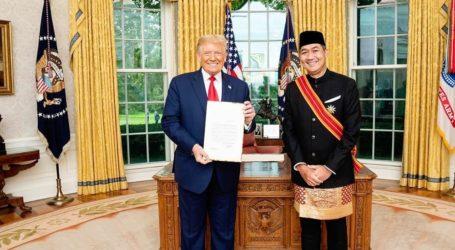 Dubes Baru RI untuk AS, M Luthfi Serahkan Surat Kepercayaan Kepada Donald Trump