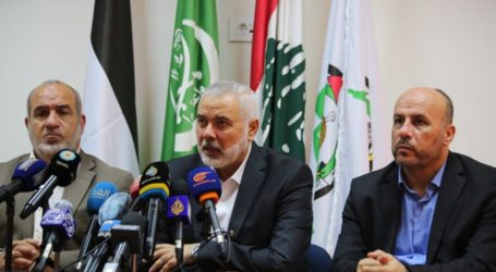 Hamas Peringatkan Para Pemimpin Arab Tidak Normalisasi Hubungan dengan Israel