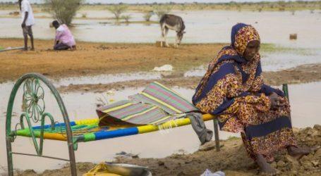 Lebih dari Setengah Juta Orang Terdampak Banjir Sudan