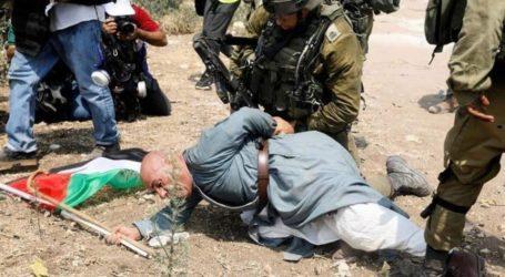 Pasukan Israel Serang Lansia Palestina dalam Aksi Protes