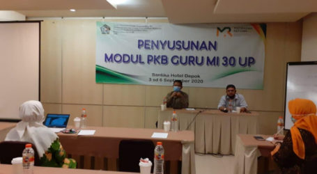 Kemenag Susun Modul Penguatan Literasi Guru Madrasah Ibtidaiyah